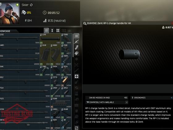 AK 74 Bolzen